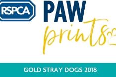 RSPCA Paw Awards GOLD logo