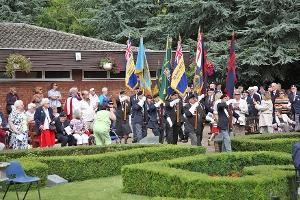 Ayscoughfee 1940's weekend garden event