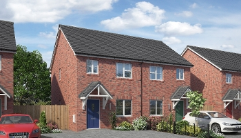 Shared Ownership Scheme - two bedroom semi-detached house