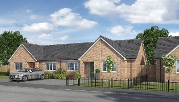 Shared Ownership Scheme - two bedroom bungalow