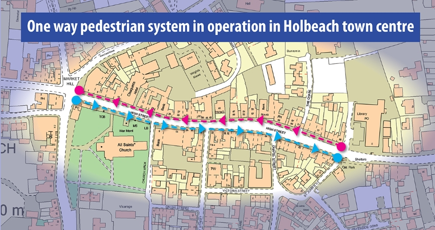 Holbeach map