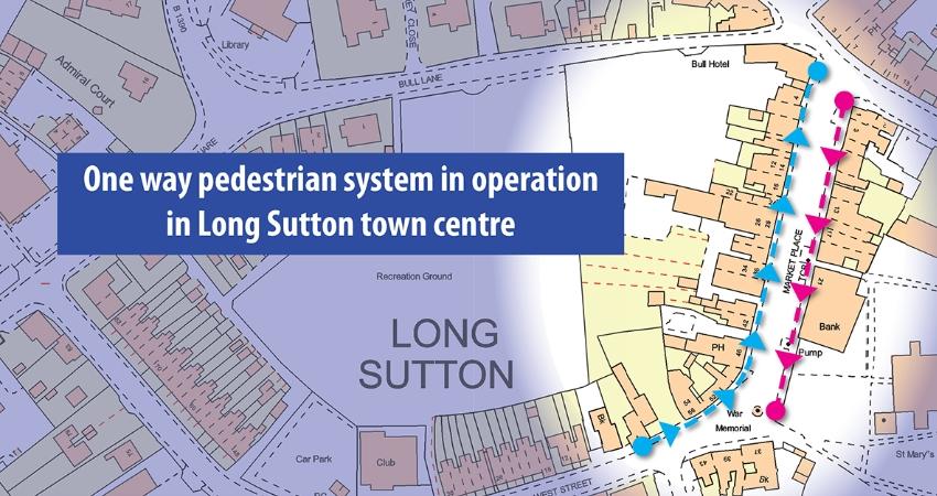 Long Sutton map