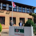 Image representing South Holland celebrates Armed Forces Week with flag raising