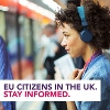 Image representing EU citizens in the UK. Stay informed.