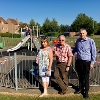 Image representing New play equipment and speed signs installed in Deeping St Nicholas